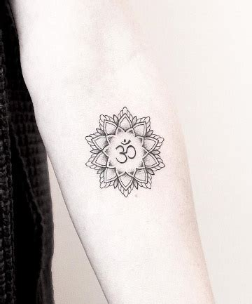 say quot om quot 17 mandala tattoos that bring out your inner