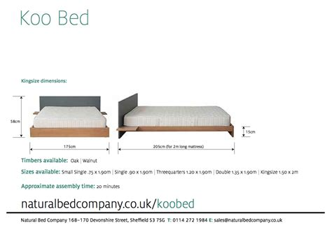 Bed Height by Koo Low Wooden Bed Painted Bed Bed Company