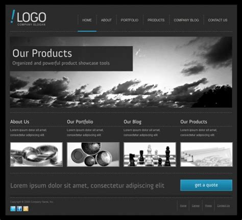 the best joomla and drupal cms themes released in 2011