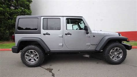 jeep rubicon silver 2 door el115494 2014 jeep wrangler unlimited rubicon