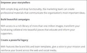 canva nonprofit creating branded designs review of canva for nonprofits