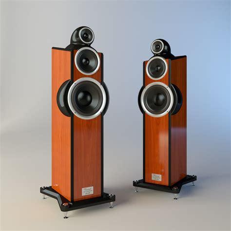 Floor Standing Ls 3dsmax Floor Standing Loudspeaker