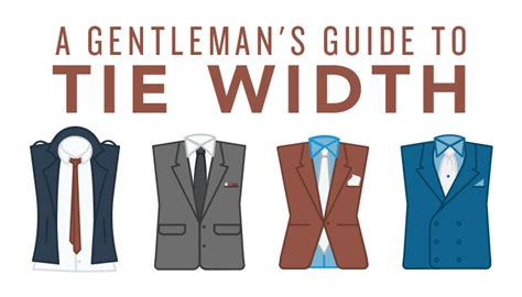 s style tips a gentleman s guide to tie width