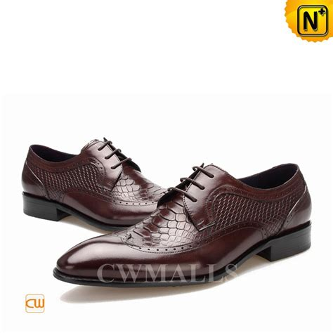 designer oxford shoes cwmalls 174 embossed leather dress oxfords cw716025