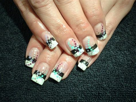 Retro Nägel retro gel nail gallery