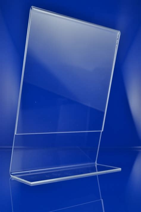 Acrylic A3 l stand acrylic plexiglass advertising prospect price display a3 a4 a5 a6 7 ebay
