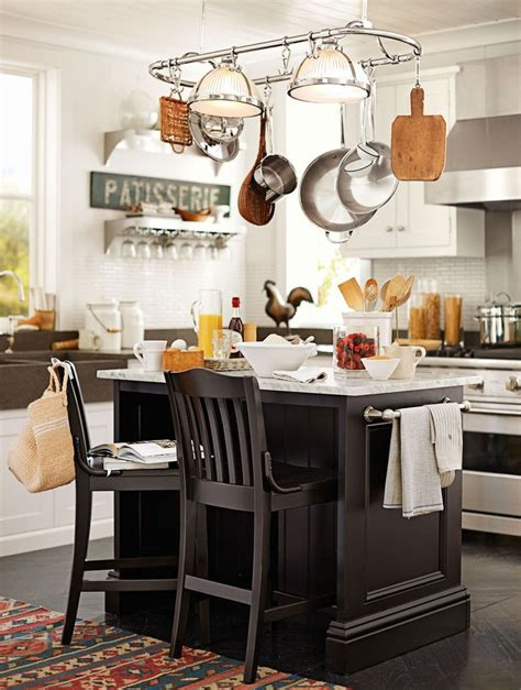 Hanging Pots And Pans Island Hanging Pots And Pans For Decorating Your Kitchen Sortrachen