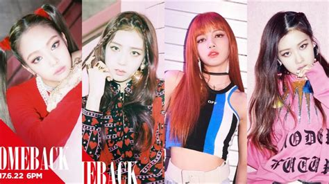 blackpink comeback 2018 blackpink comeback june 2017 teaser photos youtube