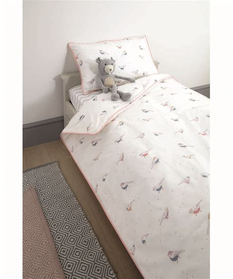 Cot Pillow And Duvet by Cot Bed Duvet Cover Pillow Cover Bird Aop Mamas