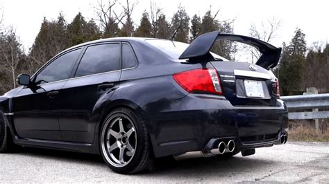 subaru sti 2011 custom 2011 subaru impreza wrx sti invidia q300 exhaust youtube