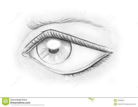 imagenes de ojos en blanco ojo en blanco y negro foto de archivo imagen 10068340