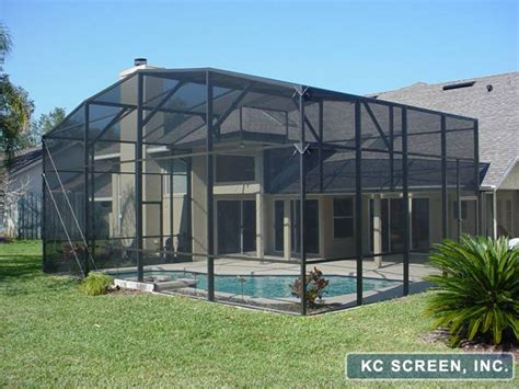 Backyard Enclosures by Porches Patios Frame Ins Kc Screen