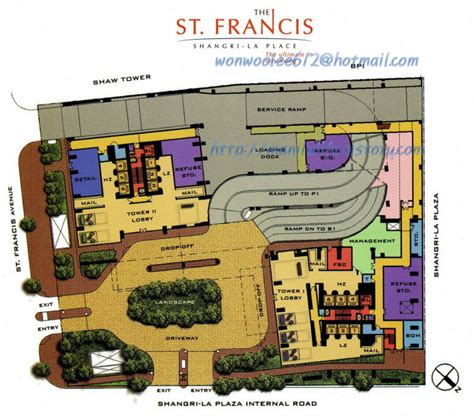 The Warren Condo Floor Plan unit philippines manila makati fort bonifacio ortigas