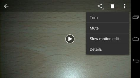 how to trim cut on any android device