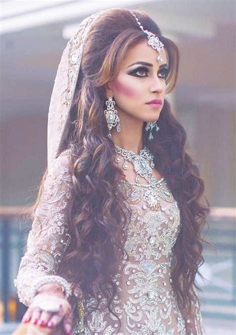 Curly Hairstyles For In India best indian wedding hairstyles for brides 2016 2017