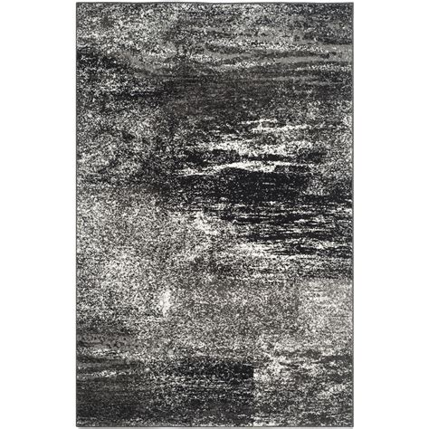 black and white accent rug safavieh adirondack black silver white area rug reviews