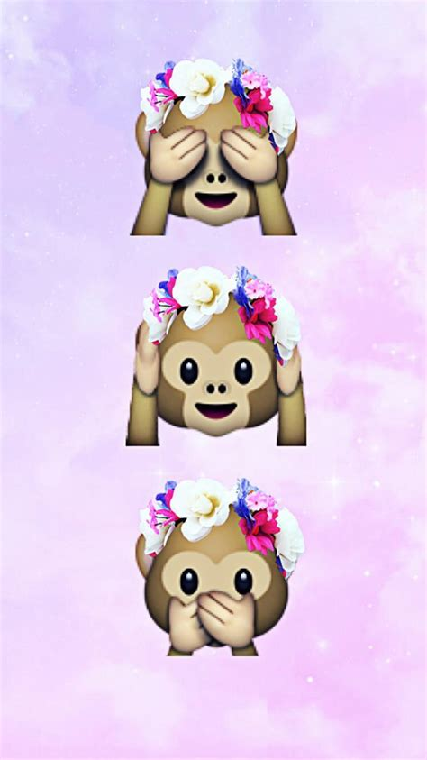 wallpaper emoji monkey monkey wallpaper emoji emoji pinterest monkey
