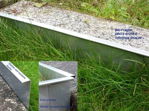 rasenkantensteine beton gewicht rasenkanten kiesleisten aus edelstahl versandmetall