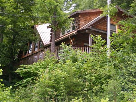 River Gorge Bridge Cabins by Luxurious Cabin Across From The River Vrbo