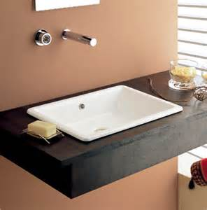 wide bathroom sink wide rectangular contemporary vessel or built in bathroom sink by scarabeo contemporary
