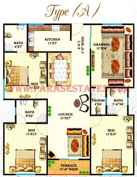 House Plans With Keeping Rooms Defence Heights 187 Paras Estates