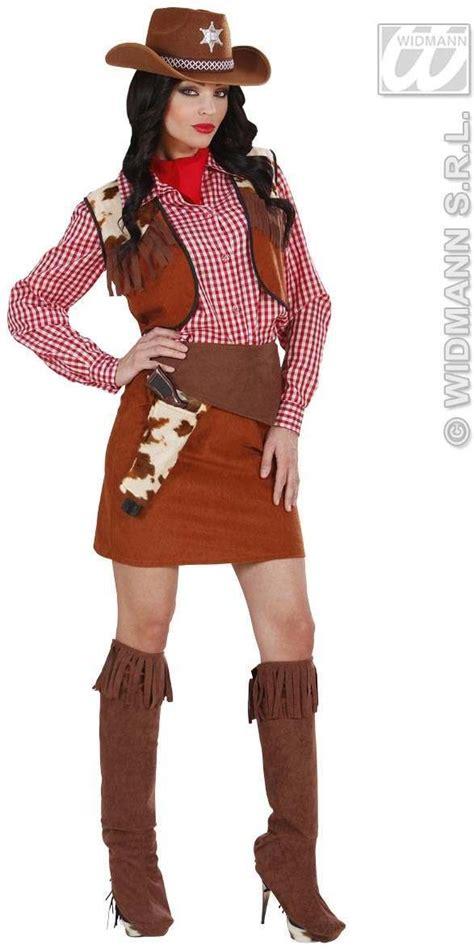 cowgirl fancy dress costume ladies cowboysnative americans