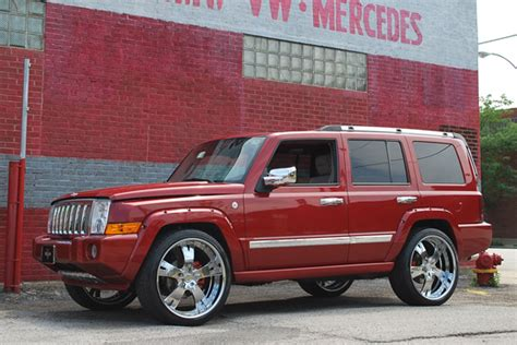 Jeep Commander Size Vellano Forged Wheels