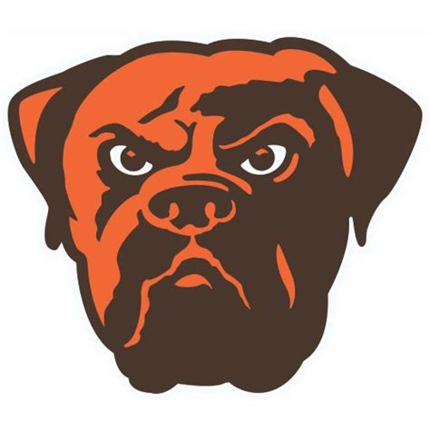 Kaos Sport Football Cleveland Browns Alternate Logo 2003 2014 custom or design cleveland browns logo iron on decals stickers heat transfers for your favorite