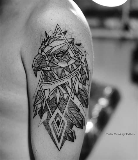 geometric tattoo philadelphia resultado de imagen de blackwork geometric eagle tattoo