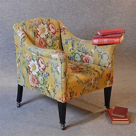 vintage bedroom chair antique armchair english victorian salon reading bedroom