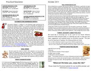 free printable preschool newsletter templates preschool newsletter template 9 psd pdf documents