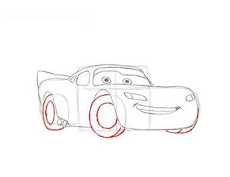 Auto Malen Leicht Gemacht by Lightning Mcqueen Zeichnen Lernen Schritt F 252 R Schritt