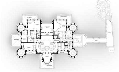 Mansion Floorplans by Floor Plans To The 60 000 Square Foot Le Palais Royal