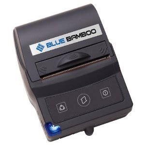 blue bamboo pocket postm p25i printer portable