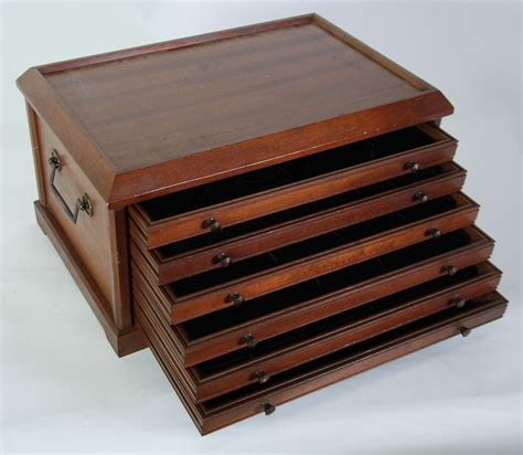 coin cabinets for sale 20th century sepele mahogany coin collectors table top