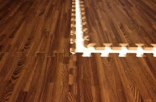 Floor Mats That Look Like Wood 5 8 Quot Premium Soft Wood Tiles Basements Water And
