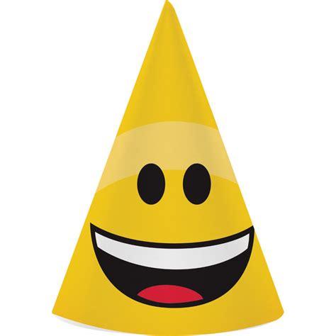 Smile Hat emojions emoji hats smiley birthday supplies