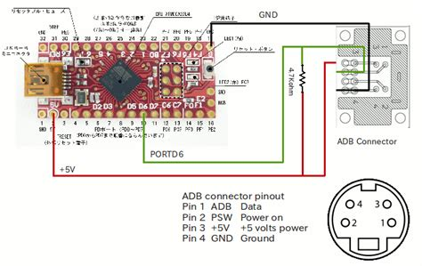 adb to usb adapter using arduino keyboard function jomon