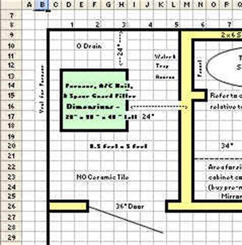 drawing floor plans in excel easy way to draw house plans in excel way home plans ideas