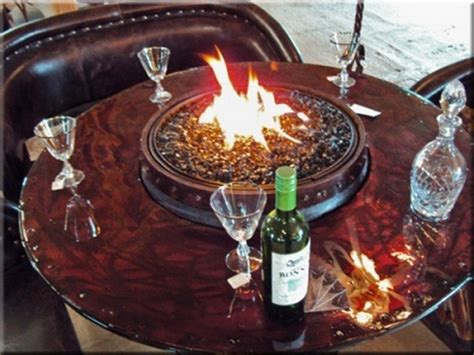 turn a wine barrel into a pit table diy projects