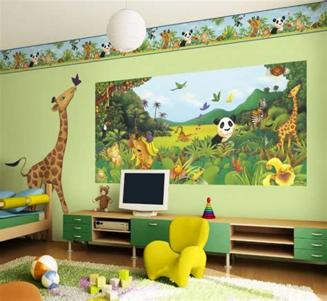 kid room wall decor 30 attractive green room designs