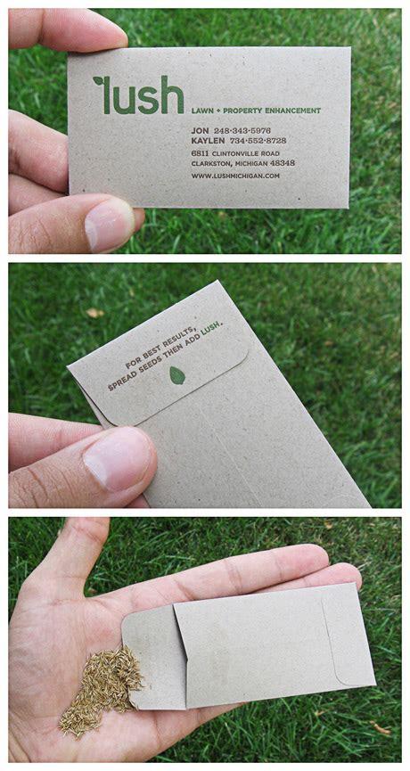 Visitenkarten Nachhaltig Drucken by Nachhaltige Visitenkarten Lilli Green 174 Magazin F 252 R