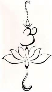 Lotus Flower With Om Symbol Meaning