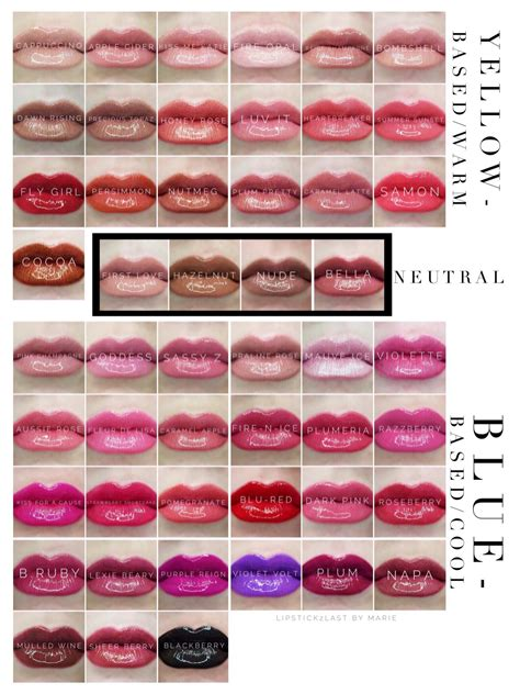 lipsense lip color lipsense color chart lipsense colors lipsense cool and