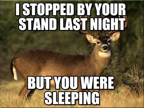 12 deer hunting memes that sum up the early season