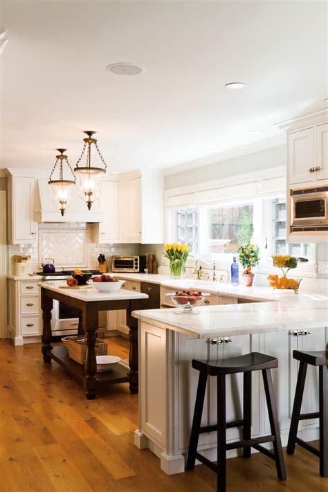 开放式厨房吧台装修设计 土巴兔装修效果图