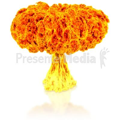 Nuclear Explosion Science And Technology Great Clipart For Presentations Www Explosion Animation For Powerpoint