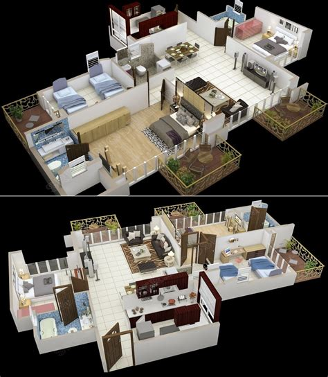 baufritz offers homes in various size 3 bedroom houses 4 50 three 3 bedroom apartment house plans roommate