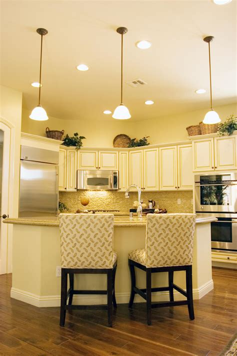 Light Yellow Kitchen Walls 84 Custom Luxury Kitchen Island Ideas Designs Pictures