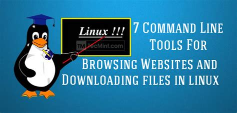 linux training materials downloads gbdirect linux 8 command line tools for browsing websites and downloading